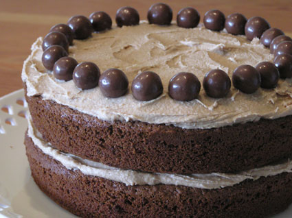 Chocolate Malteser Cake Recipe Nigella