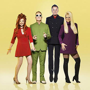 The B-52s, who weren't at the Albany Christmas pageant.